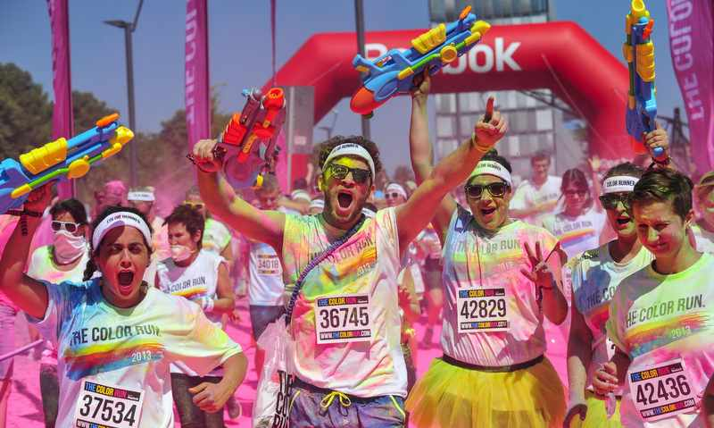 THE COLOR RUN Foto: Veranstalter