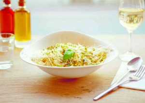 Vapiano special spaghetti gorgonzola e pistaccio wo poletto Foto: Vapiano