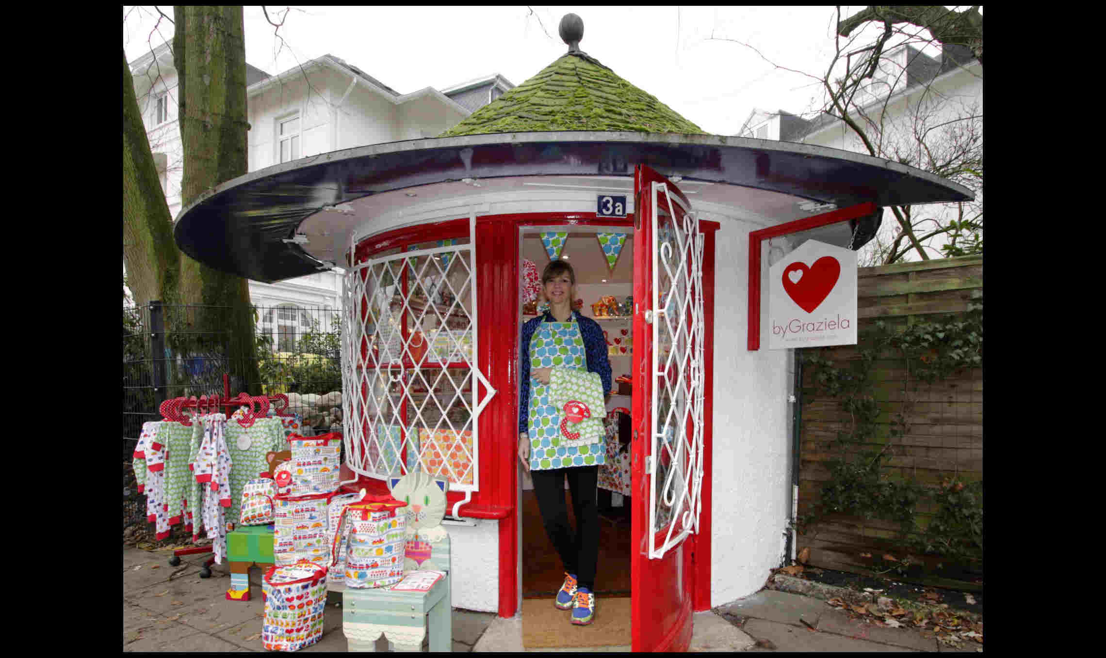 byGraziela Flagshipstore mit Nina Nägel Foto: Store