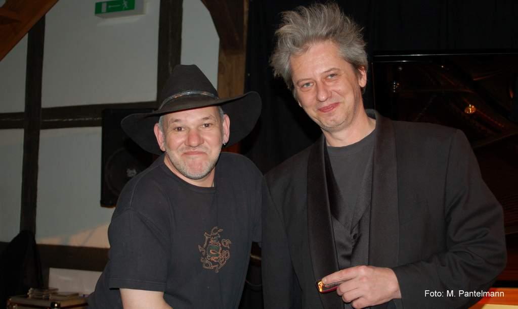 Blues mit Schroeter und Breitfelder Foto: M. Pantelman