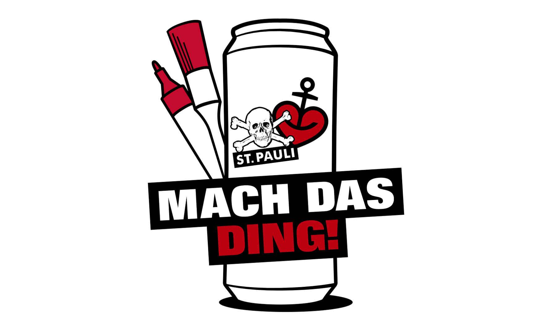 Gestalte die Astra-St. Pauli Fandose Foto: Brauerei