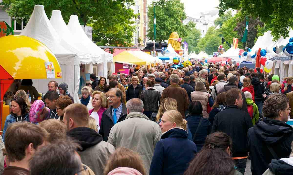 Eppendorfer Landstraße Strassenfest © F. Rogalinski