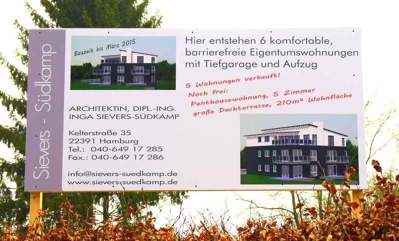 Eigentumswohnung zu verkaufen © ganz-hamburg.de