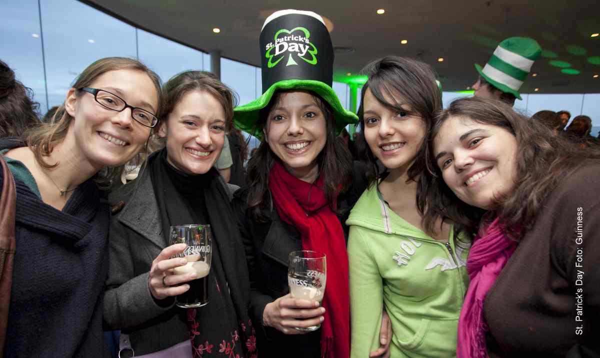 Saint Patrick's Day 2014 Foto: Guinness