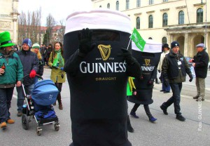 Walking Pints auf St. Patrick's Day Parade 2010 Foto: GUINNESS