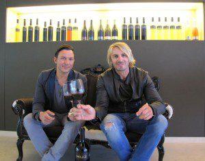 Leo Hillinger und Daniel Stock (v.l.) Foto: MK Salzburg
