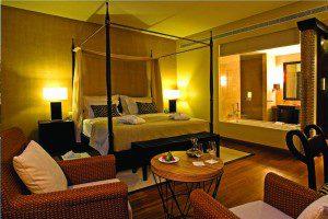 Cascade Wellness: Doppelzimmer im afrikanischen Stil © Hotel