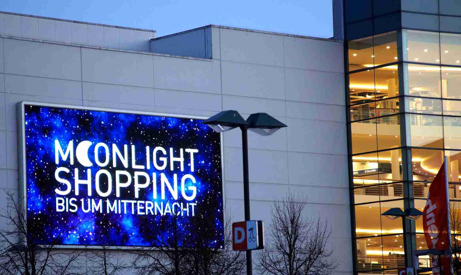 Moonlight-Shopping bei dodenhof Foto: dodenhof