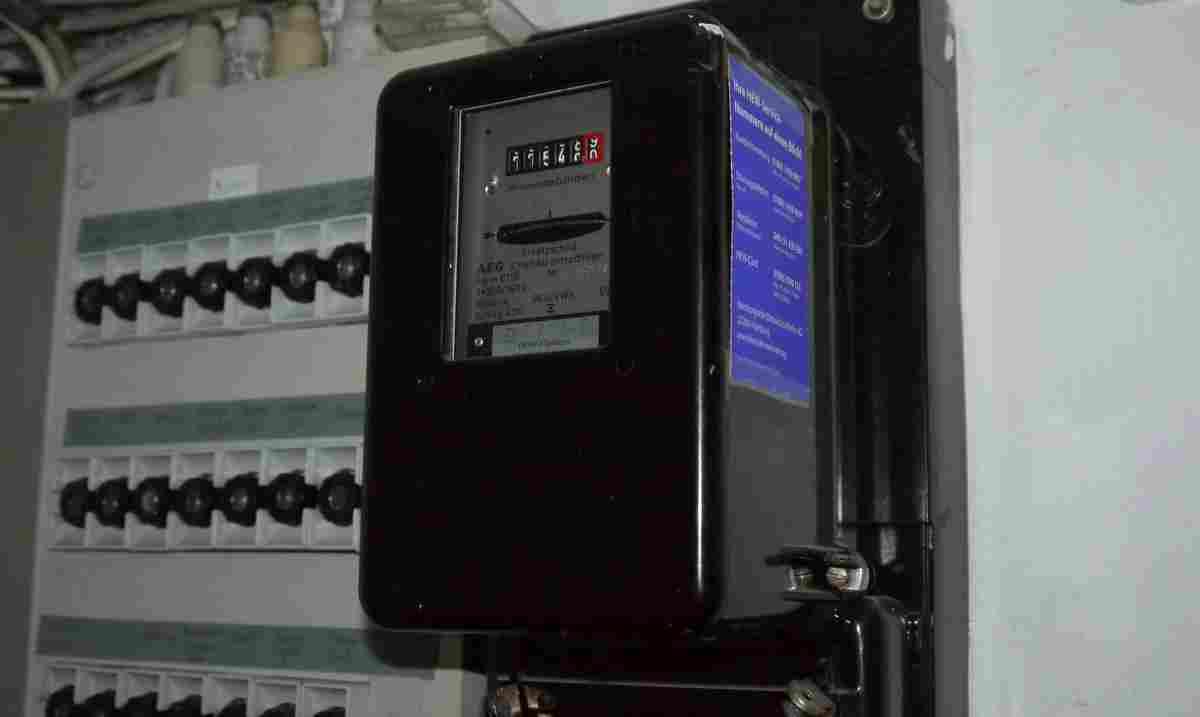Ein alter Stromzähler