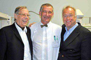 H.-M. Kreye, Dr. Axel von der Wense, Gottfried Böttger v.l. Foto: Lions Club HH-Rosengarten