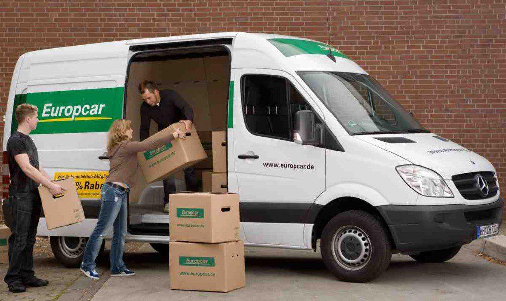 Transporter als Mietwagen Foto: Europcar