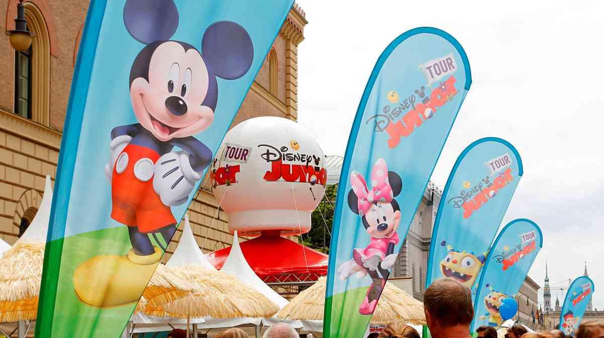 Disney Junior Tour kommt in die HafenCity©The Walt Disney Company GSA/Kurt Krieger