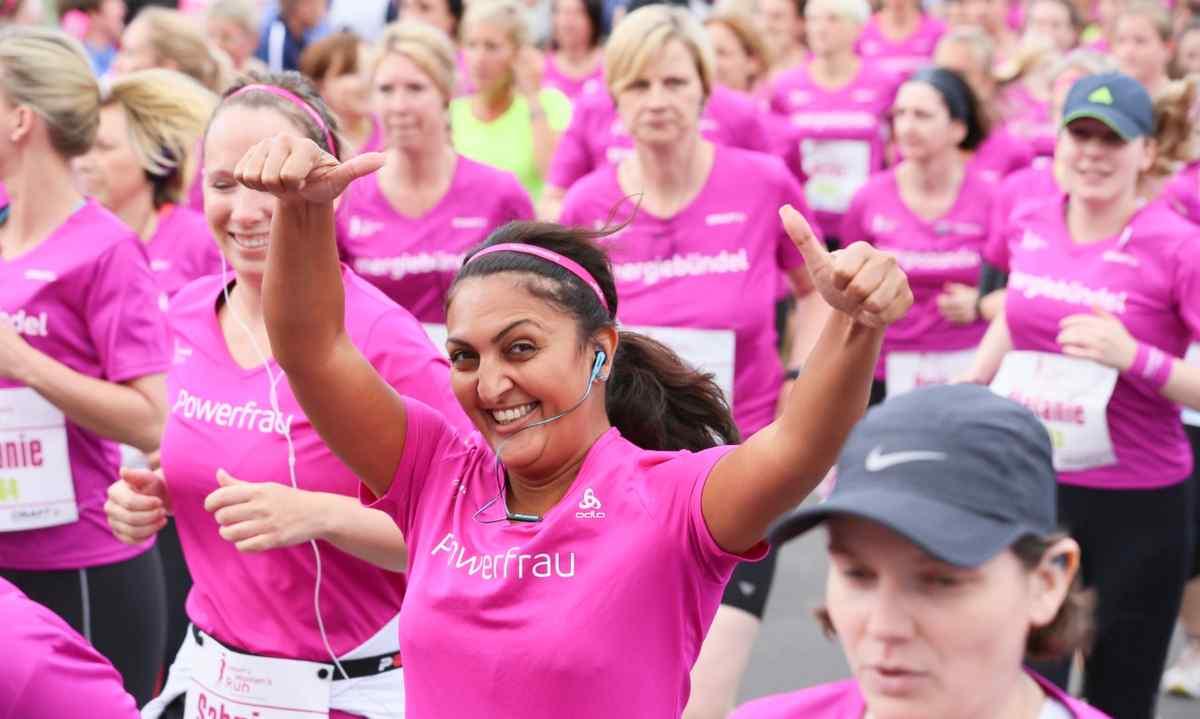 Craft women 39 s run hamburg 5000 energieb ndel starten for Craft women s run