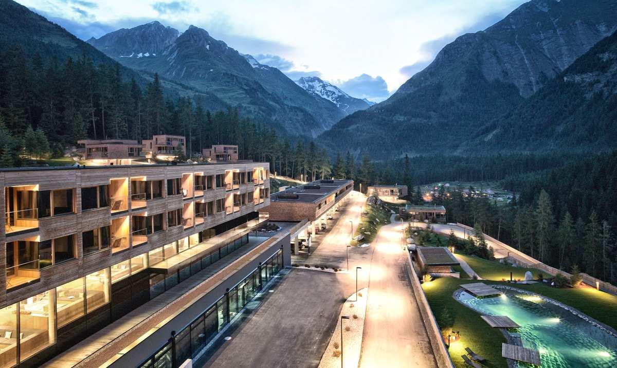 Gradonna Mountain Ressort Foto: Hotel