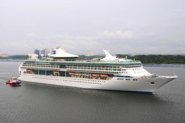 Neu in Hamburg die Legend of the Seas Foto: Royal Caribbean International