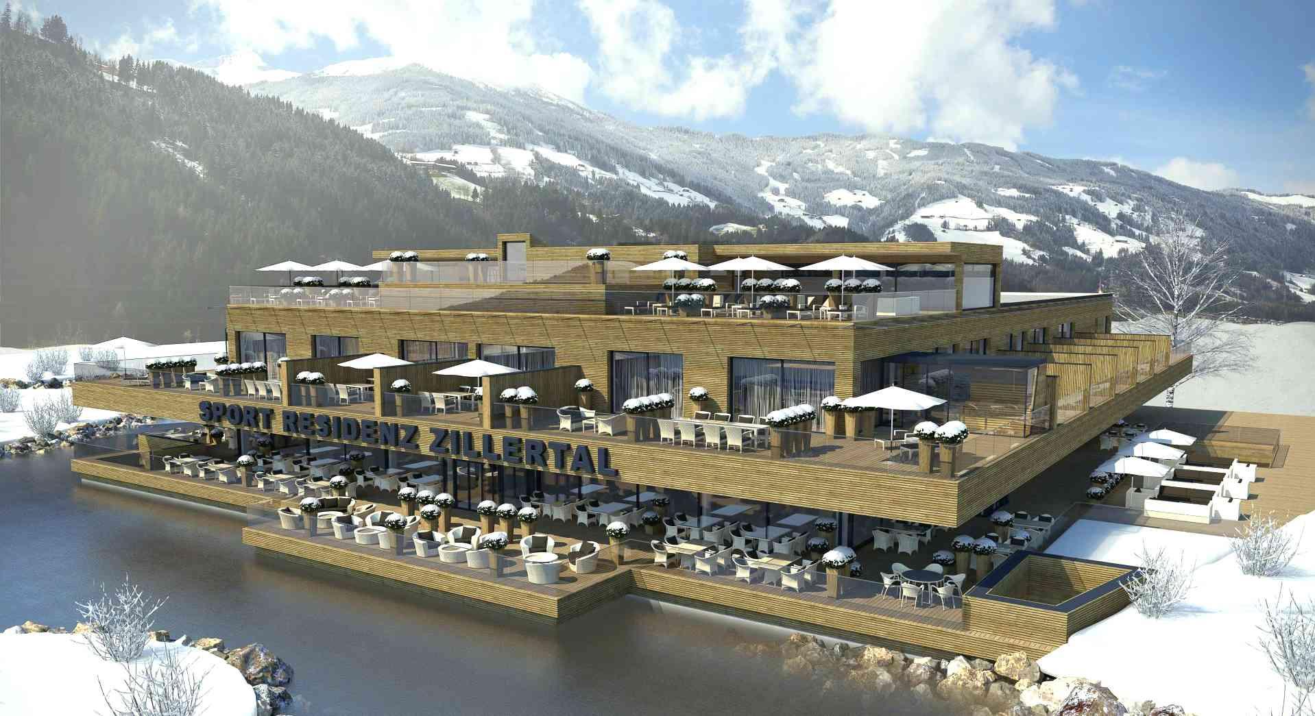 Die neue Sport Residenz Zillertal