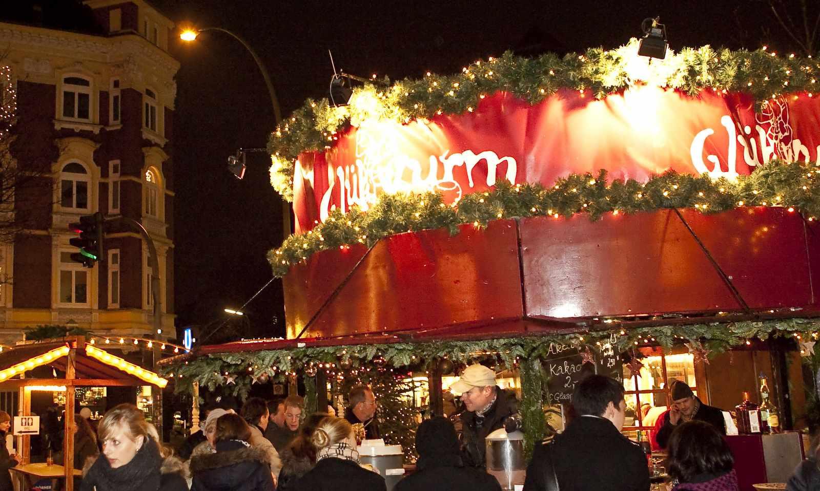 Der Weihnachtsmarkt in Eppendorf