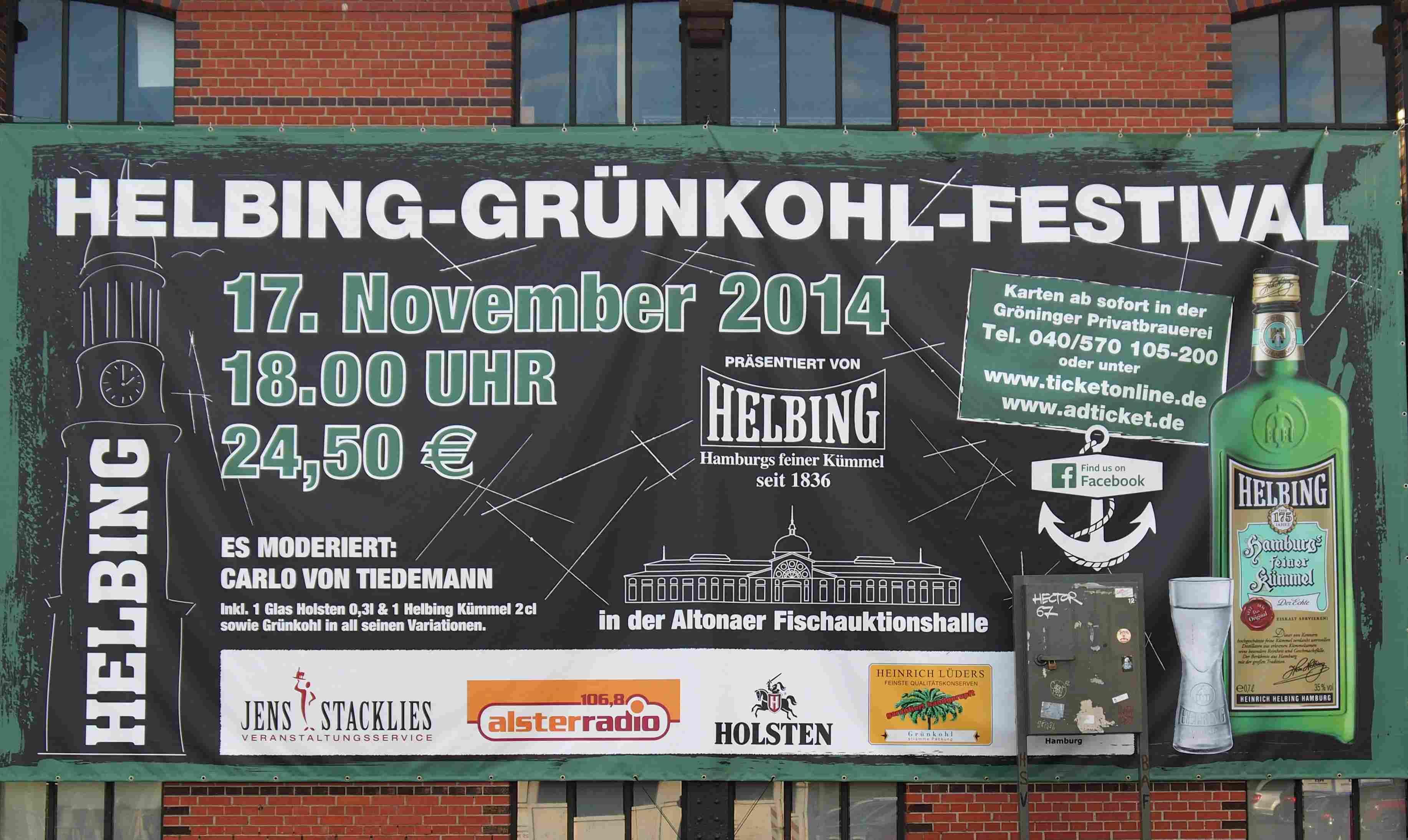 HELBING lädt zum Grünkohl-Festival ein Foto: ganz-hamburg.de