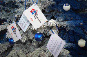 Der Wunsch-Weihnachtsbaum bei Auto Wichert