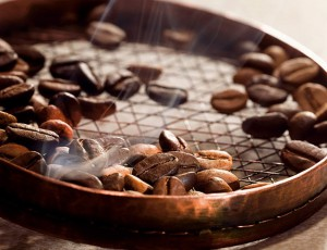 frischgeröstete Kaffeebohnen, ein Dufterlebnis Foto: Tchibo