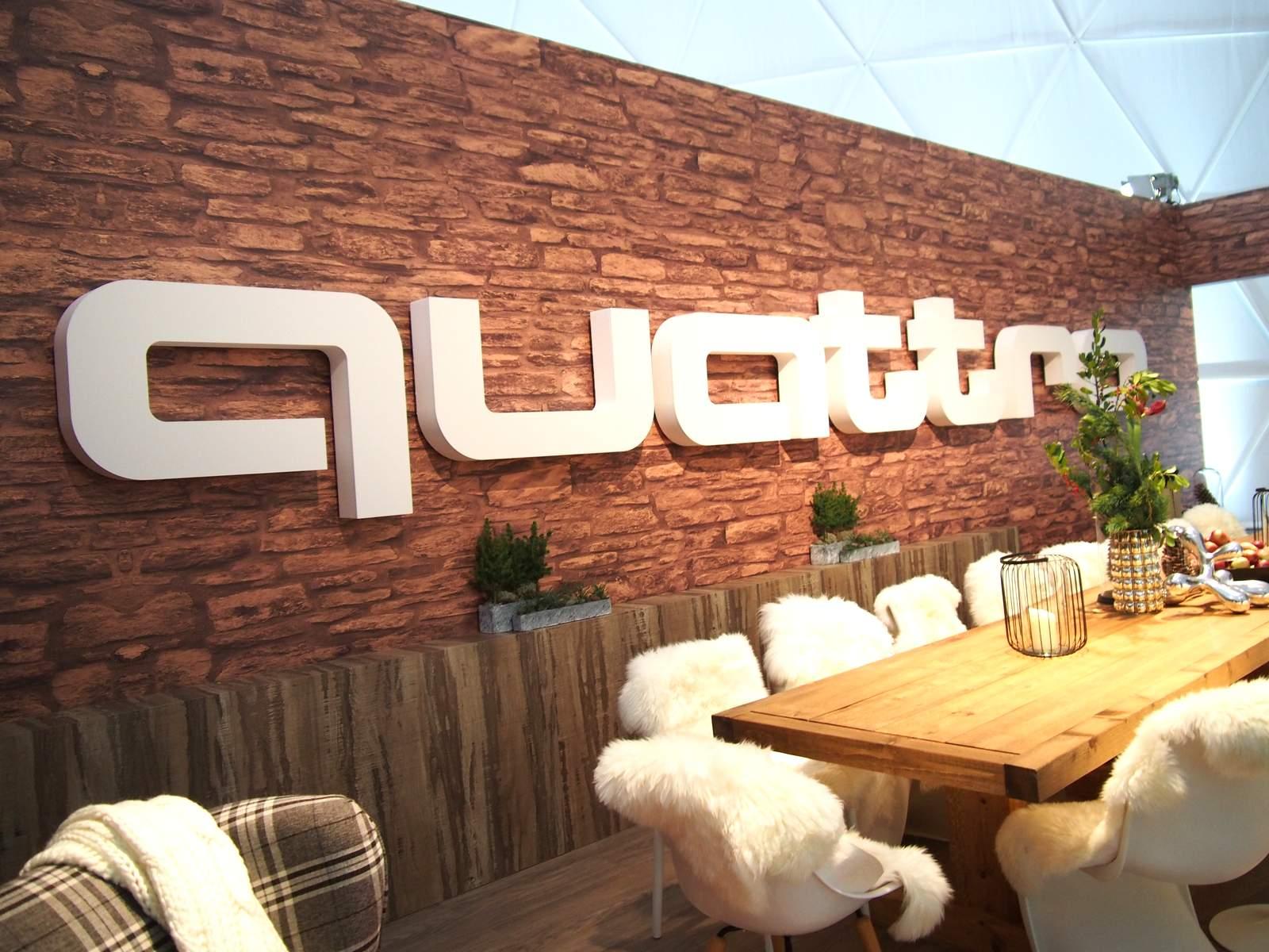 In der HafenCity die Audi quadro lounge Foto: ganz-hamburg.de