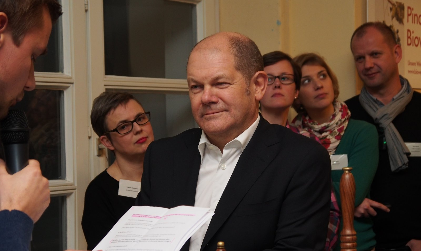 Olaf Scholz Bürgermeister