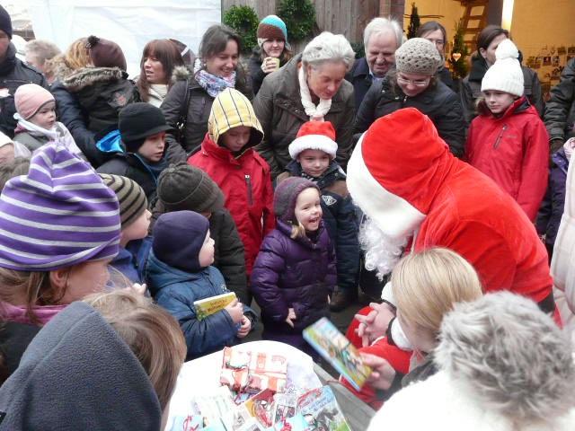 Hofweihnachtsmarkt in Großensee Foto: Familie Pietz