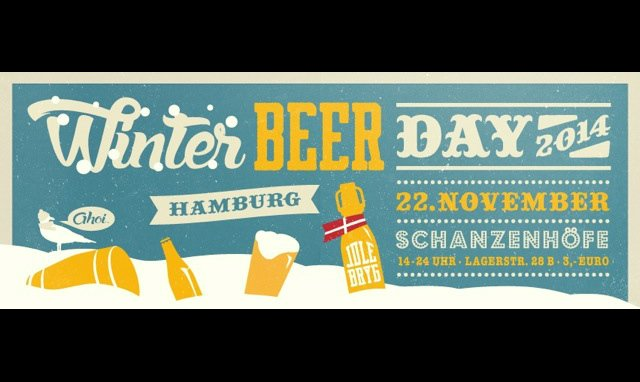 Winter Beer Day in Hamburg