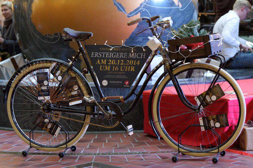 Ein Klassiker aus den 50er Jahren das Dürkopp Vintage Bike Foto: Greif Concept