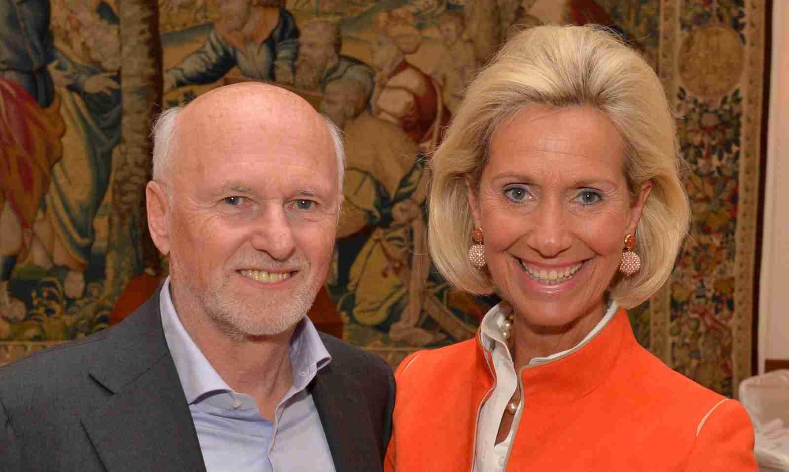 Dirk Rossmann Kristina Tröger im Hotel Vierjahreszeiten