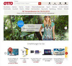 neue Otto Website