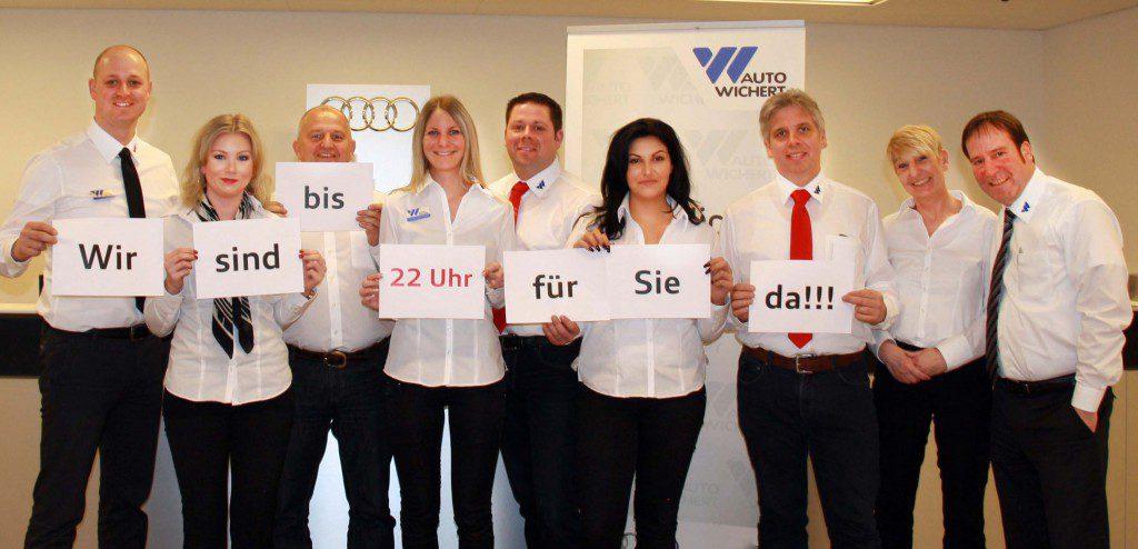 Das Audi Service Team in Langenhorn