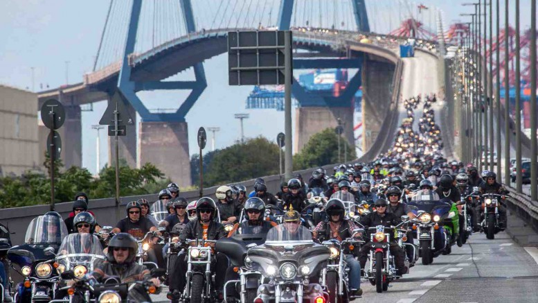 Motorradparade