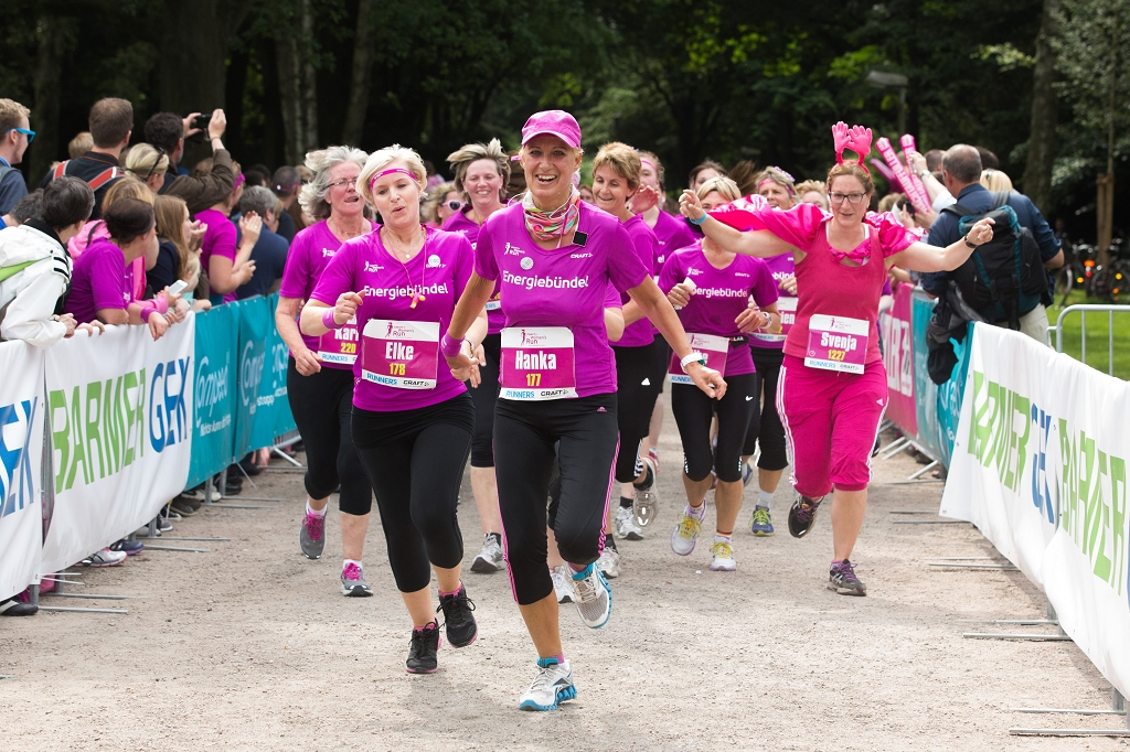 CRAFT Women's Run in Hamburg