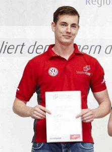 Bernhard Mösche Norddeutscher Sieger beim Staplercup
