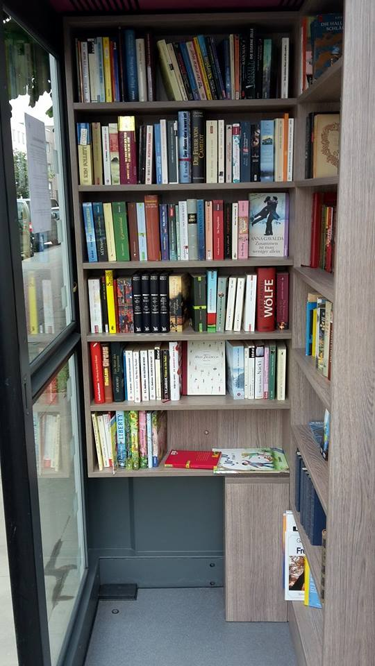 Büchertausch in Hamburg