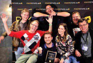 T-Zon hat das Charty Poker Turnier gewonnen Foto: Tomas Stacha