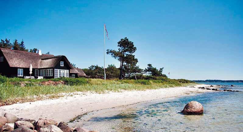 5 Sterne Ferienhaus direkt an der Ostsee fuür Angler