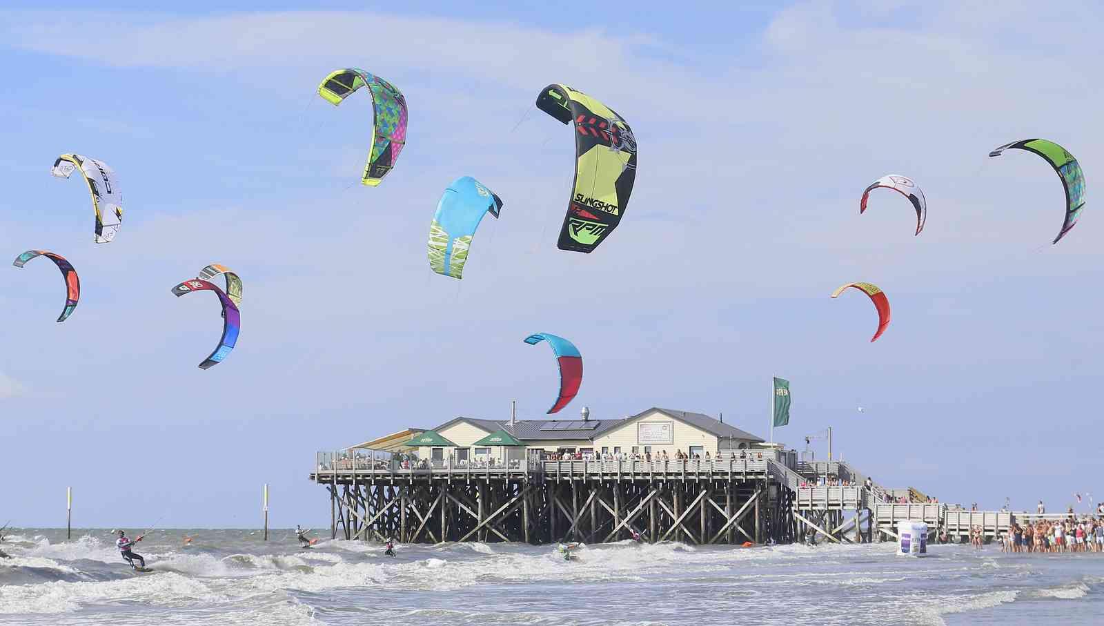 Kitesurfen St Peter Ording