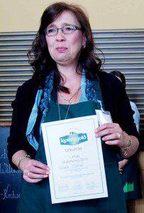 Manuela Yildiral die Butterkönigin