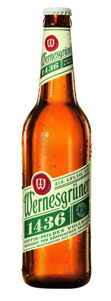 Wernesgrüner 1436 Flasche