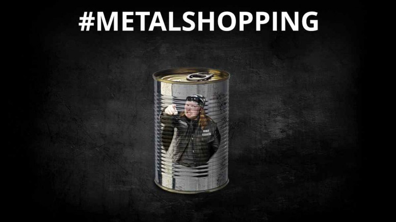 Deezer Heavy Metal Shopping