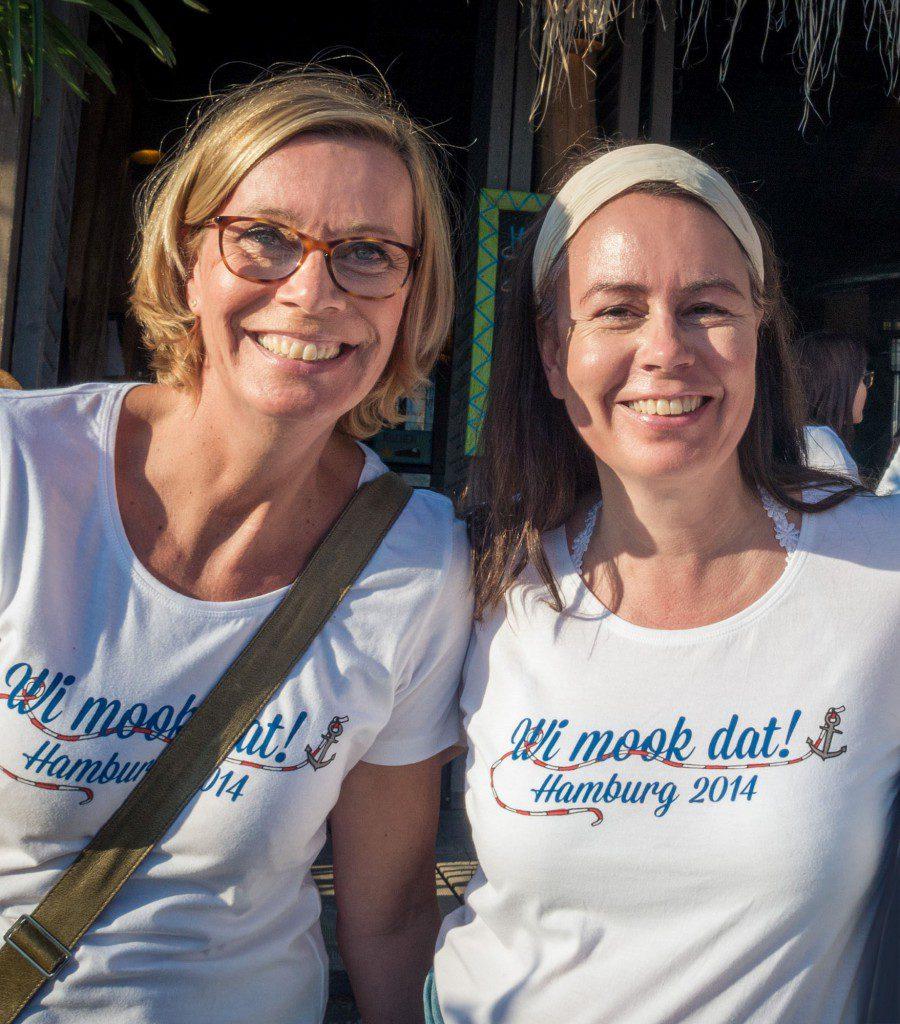 Claudia Seehusen und Anja Engelke packen an