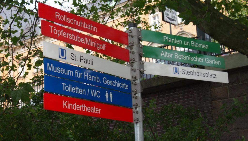Impressionen aus dem planten un blomen Park in Hamburg - ein Wegweiser