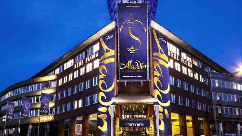 ALADDIN Stage Theater Neue Flora