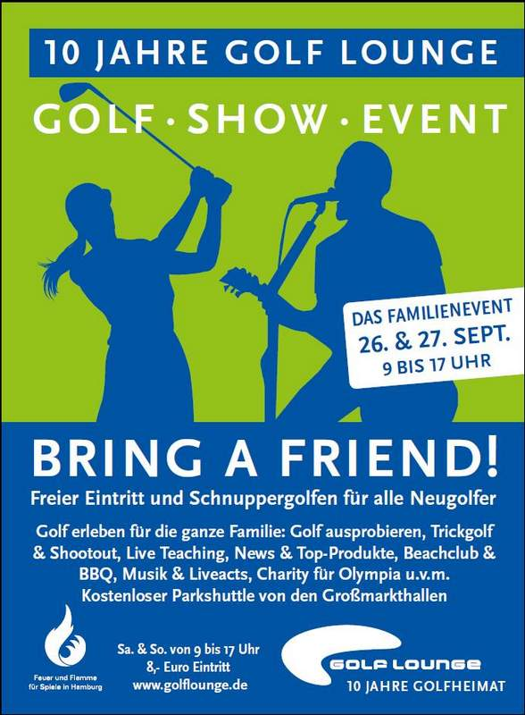 Golf Lounge Event Show