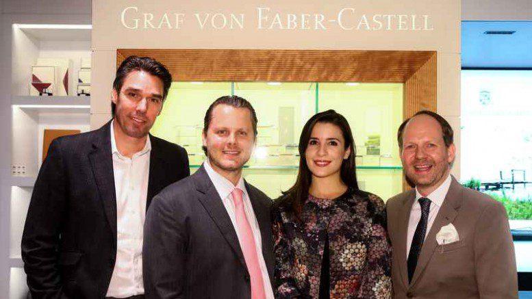 Eröffnung Faber-Castell Store Hamburg