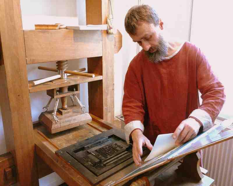 Gutenbergs Druckerei