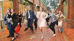 Flashmob Modenschau