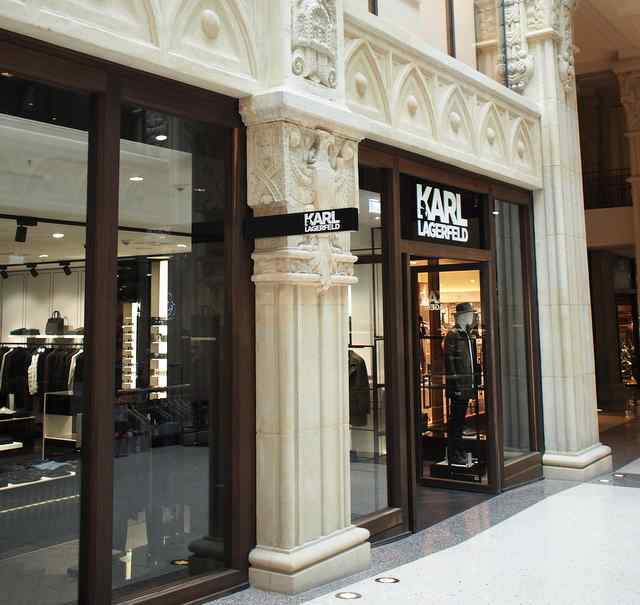 kaisergalerie opening karl lagerfeld concept store. Black Bedroom Furniture Sets. Home Design Ideas